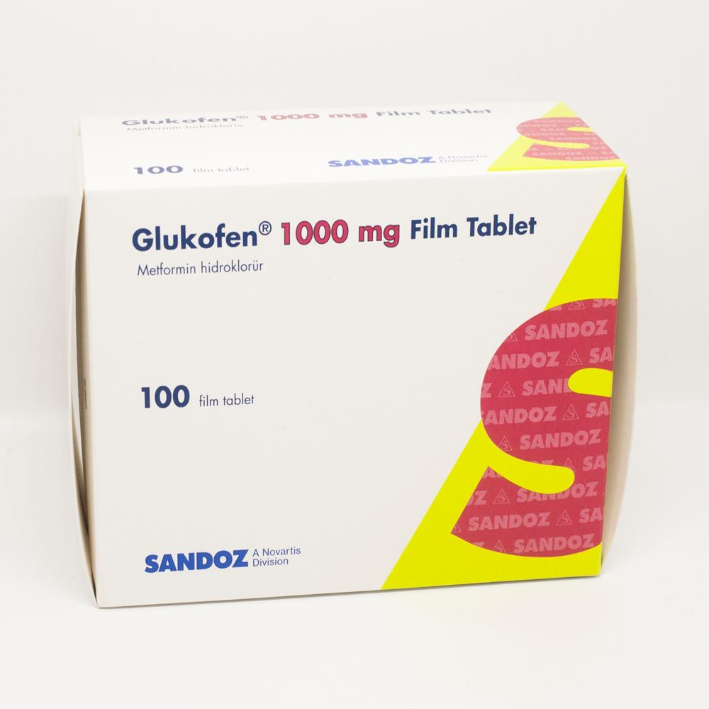 Glifor 1000 mg metformin hcl