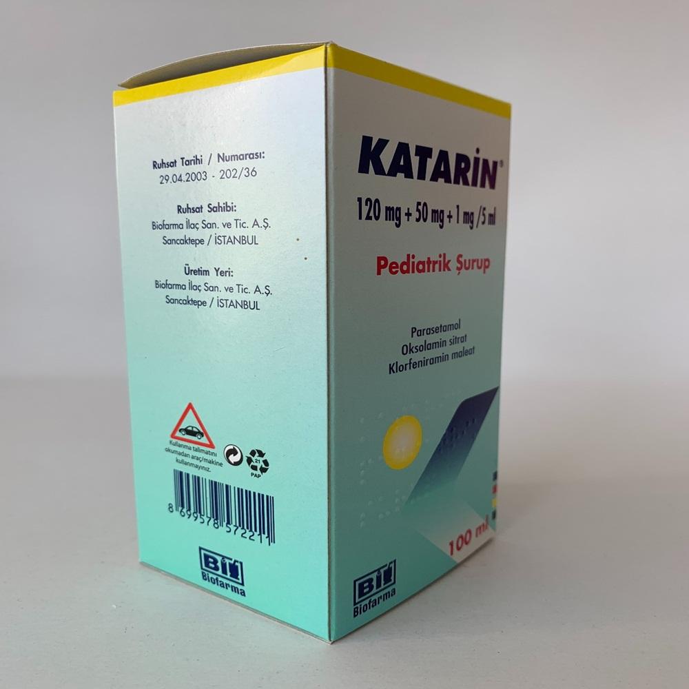katarin-100-ml-surup-nedir