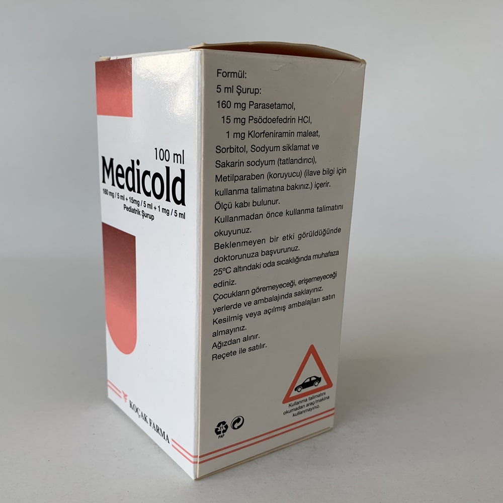 medicold-surup-muadili-nedir