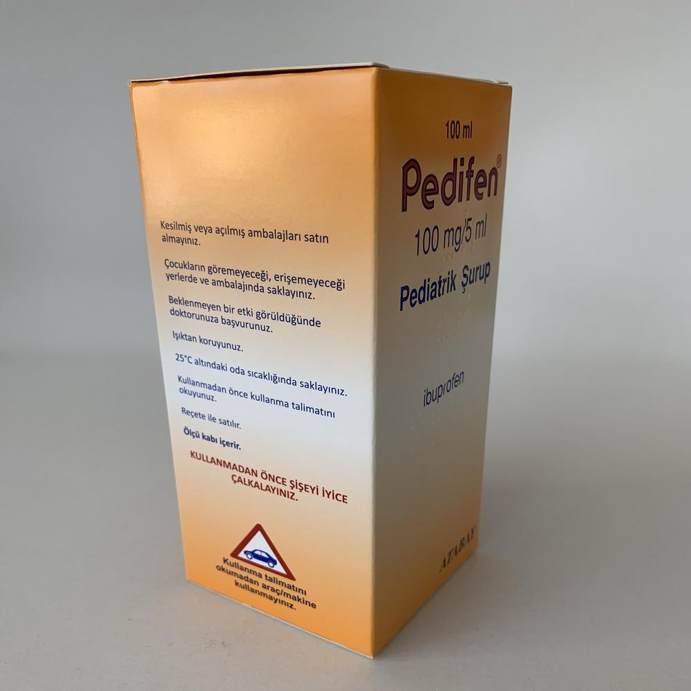 pedifen-surup-nasil-kullanilir