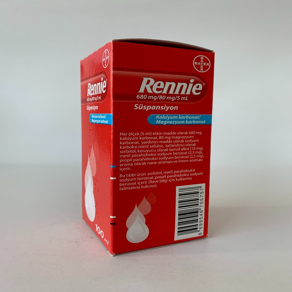 rennie-suspansiyon-ilacinin-etkin-maddesi-nedir