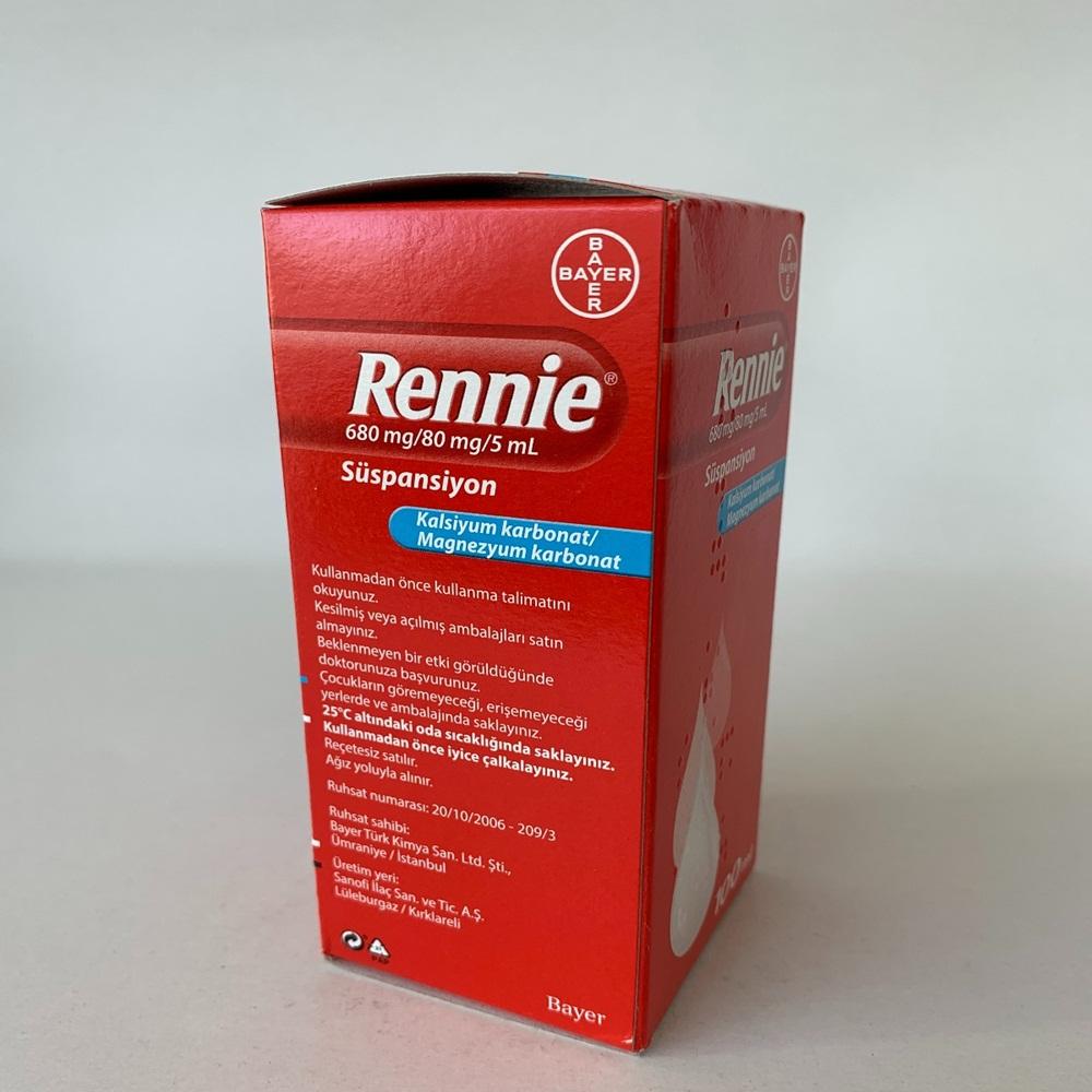 rennie-suspansiyon-ne-kadar-surede-etki-eder