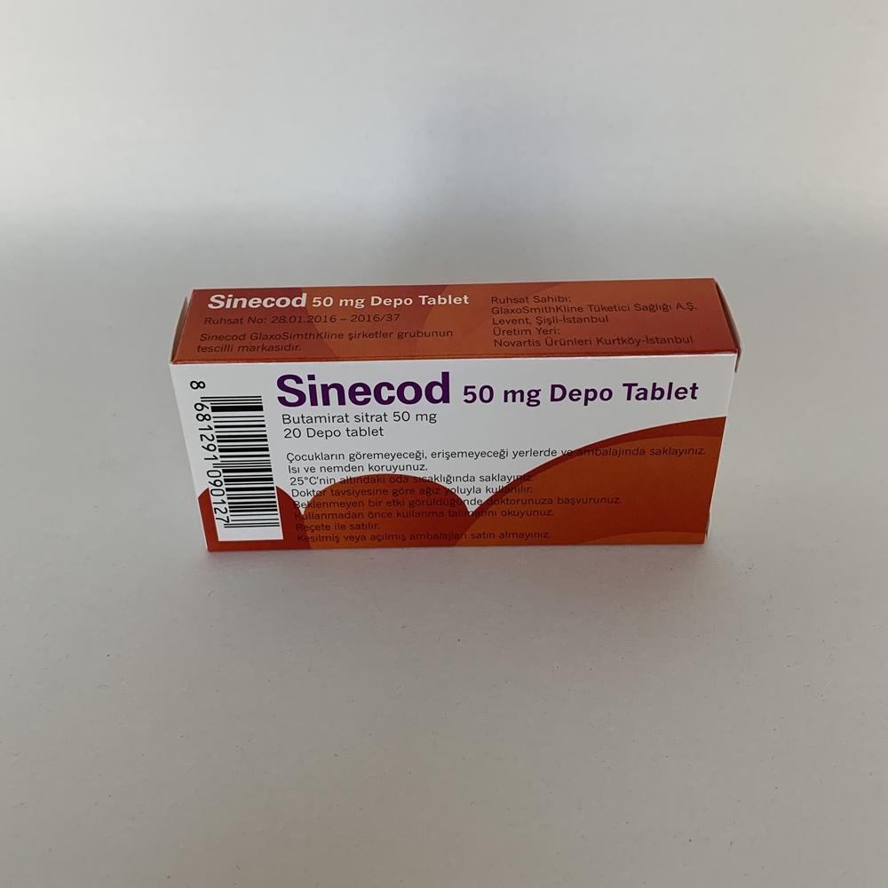 sinecod-50-mg-depo-tablet-ne-kadar-surede-etki-eder