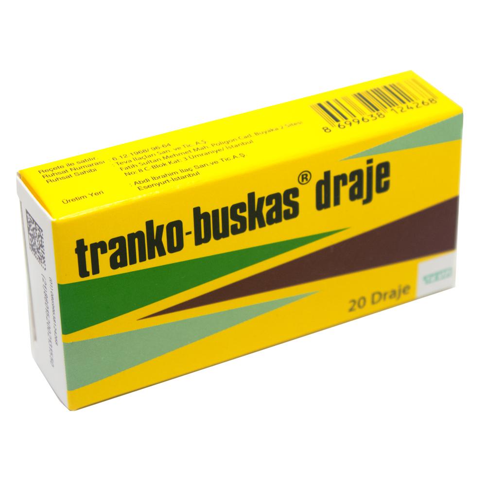 Tranko Buskas 20 Draje Nasıl Kullanılır? - İlaçlar